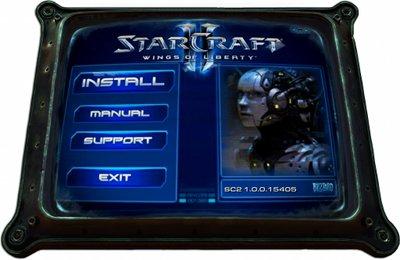 starcraft II installer