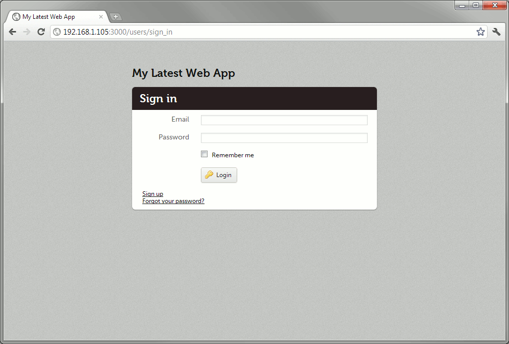"""Starting a """"professional"""" Rails 3.1 app with Web App Theme, Devise ..."""